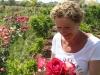 Chrstine genießt jede neue Blütenprach