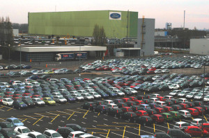 Neuwagen bei Ford in Köln