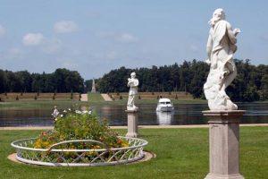 Rheinsberg, Schlossgarten Rheinsberg, Blick