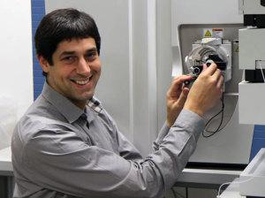 Bioanalytiker Christopher Gerner