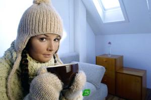 kalte Wohnung