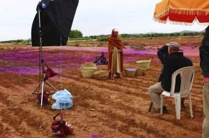 obs/Bildhinweis: Lavazza Kalender 2015 Making-Off, Fotograf: Steve McCurry