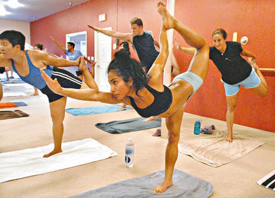 Yoga beugt vor - rantlos