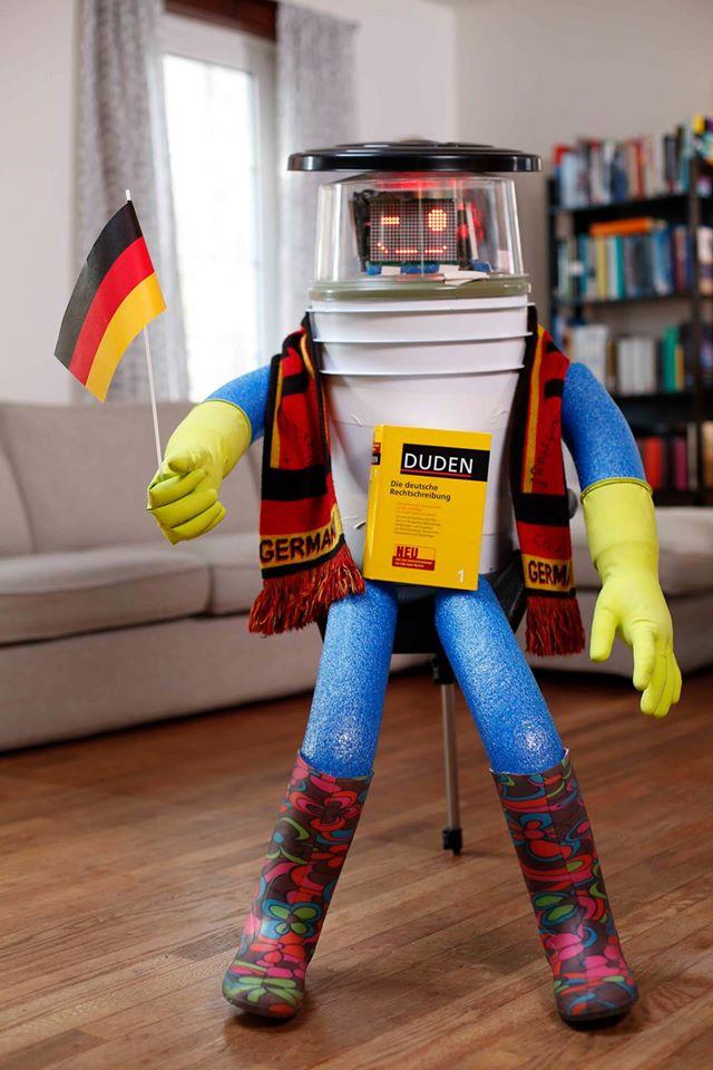 hitchbot in Deutschland