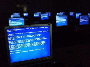 Windows Fehlermeldung - der blaue Bildschirm