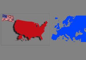 Laenderkarte USA