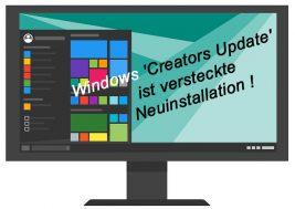 Windows Update verstecke Neuinstallation